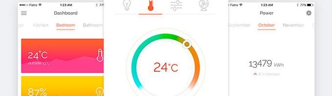 健康数据类的APP界面设计2