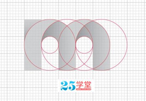 网格布局设计图标技巧展示图