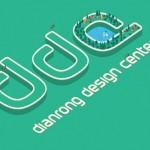 LOGO设计学习:点融设计中心DDC的字母标识设计教程