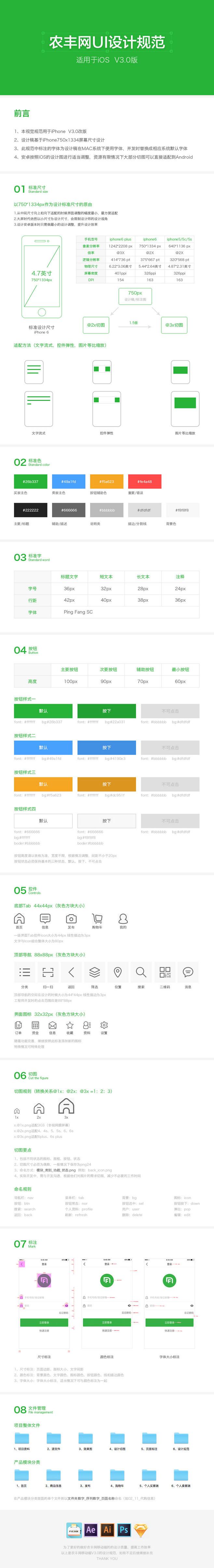 iphone6 UI设计视觉规范