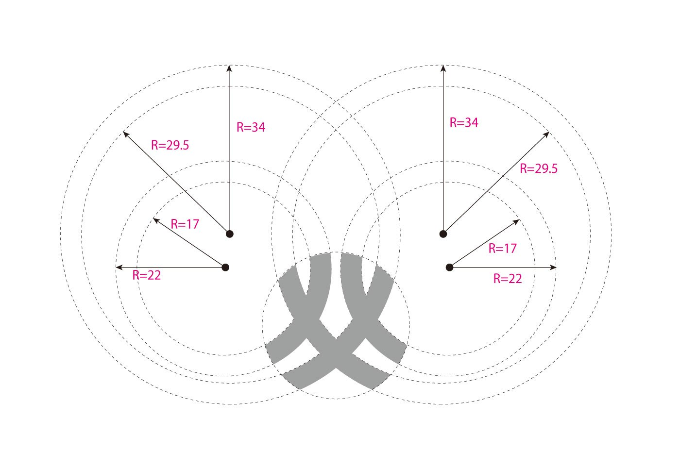 Logo网格设计图欣赏