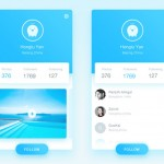 移动端UI界面设计:最常用的五种颜色搭配设计方案