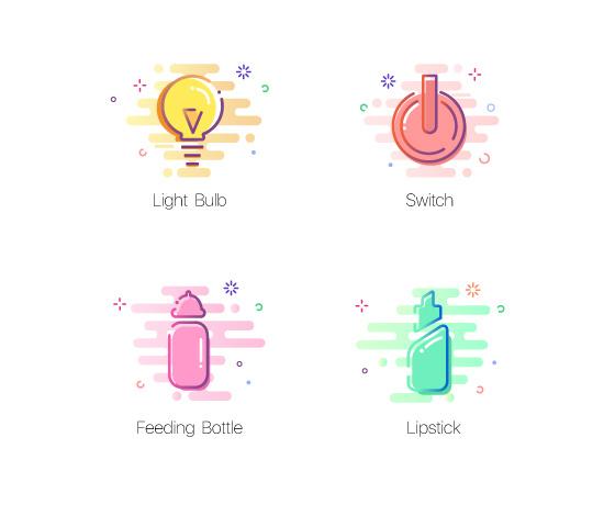 个性插画app图标设计欣赏2
