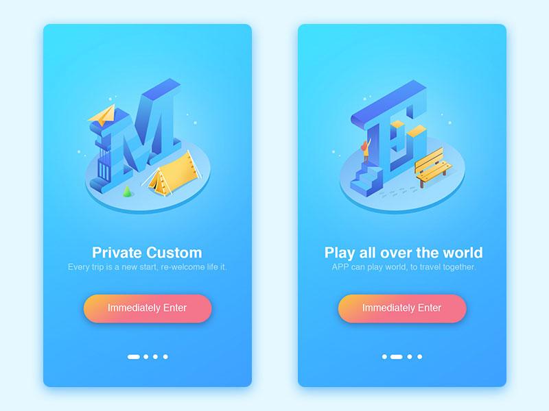app引导页设计欣赏22