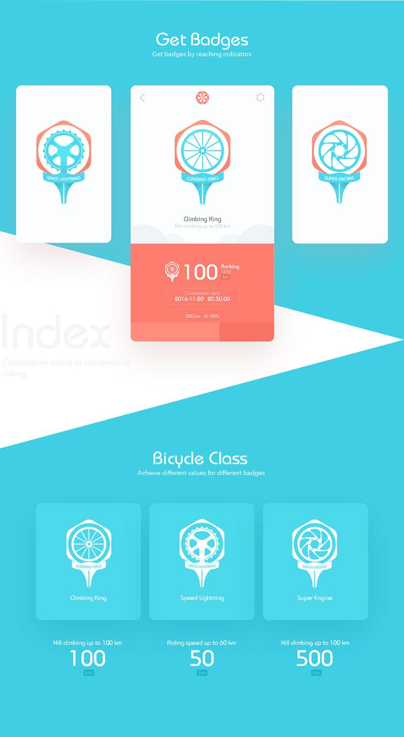 单车app界面设计欣赏4