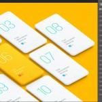 3套优质APP贴图展示素材,共10张APP界面模板