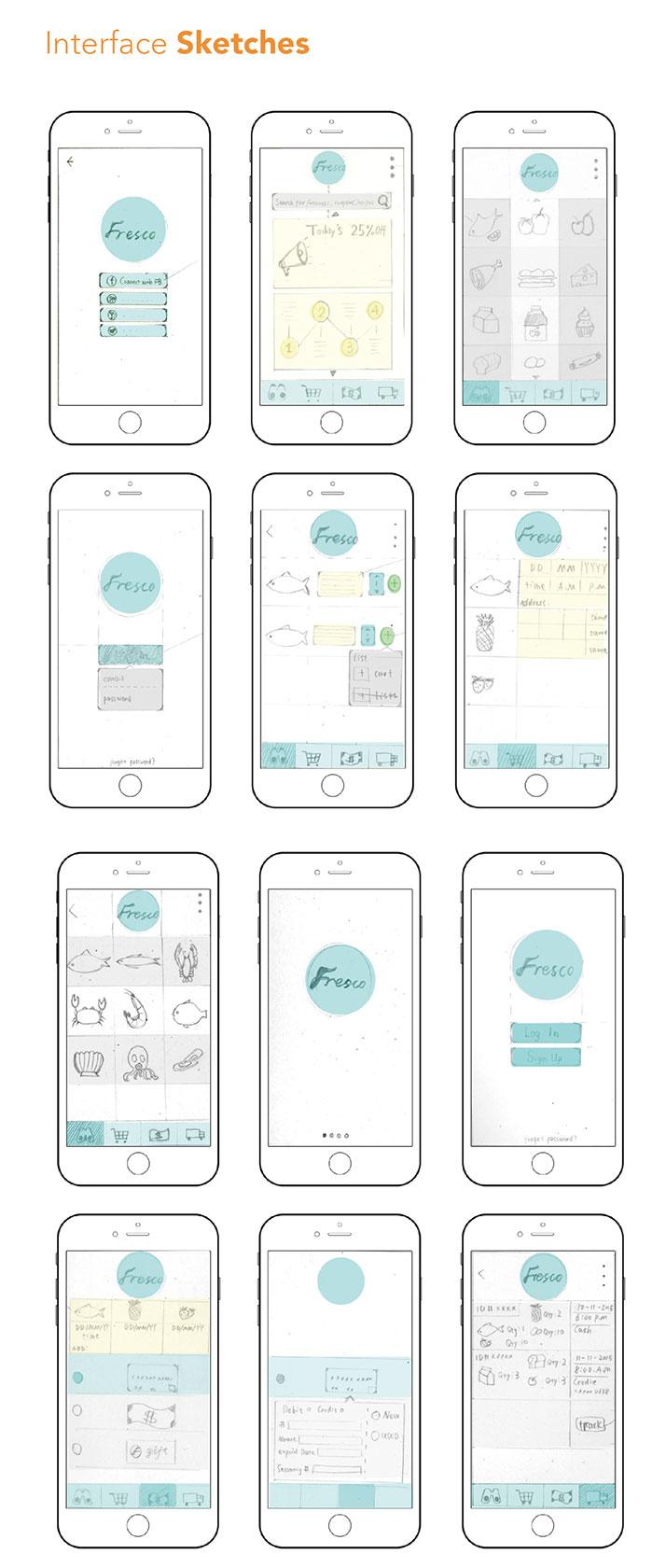 app构图颜色案例