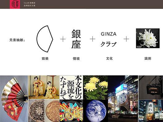 整套logo设计的推演过程案例:银座2