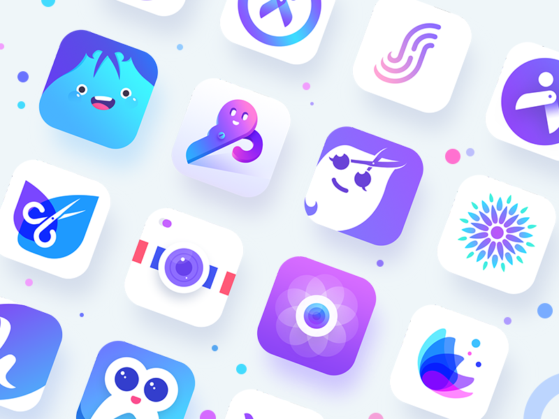 Colourful APP Icon