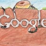 12张充满想象力的google logo涂鸦创意设计欣赏