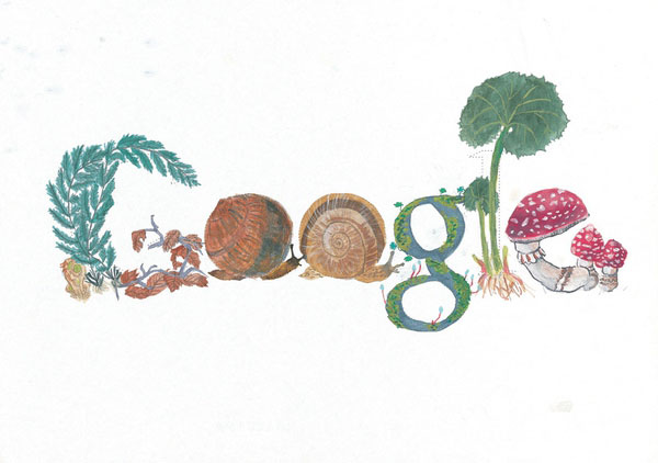 12张充满想象力的google-logo涂鸦创意设计欣赏11