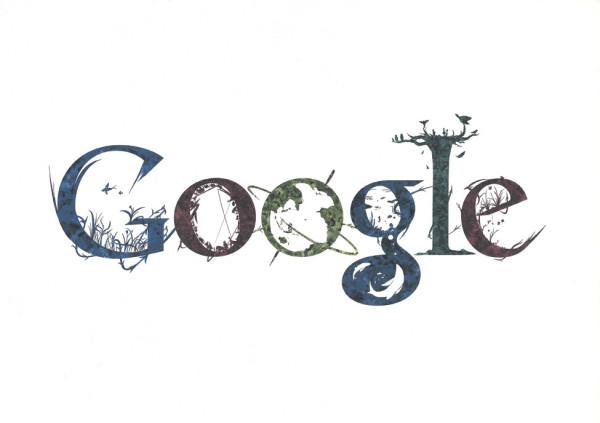 12张充满想象力的google logo涂鸦创意设计欣赏2