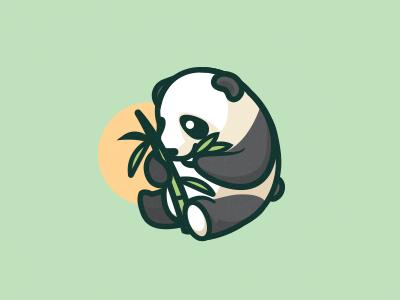 超可爱的一组动物卡通logo设计案例欣赏