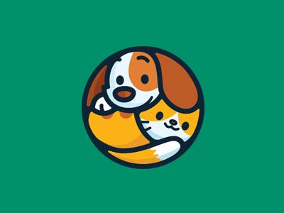 超可爱的一组动物卡通logo设计案例欣赏 – 25学堂
