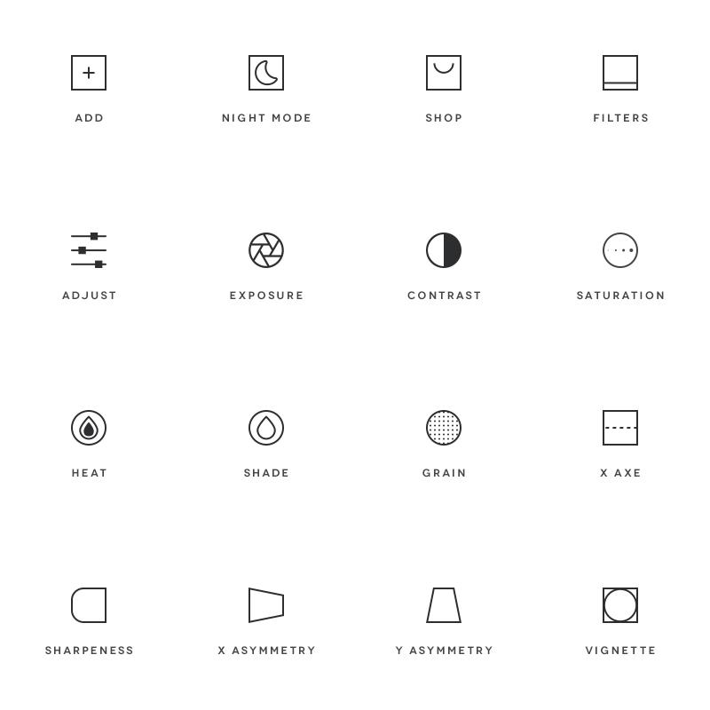 Vsco-icons