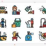 50个插画风格的icon图标素材下载(含PSD,PNG,EPS)
