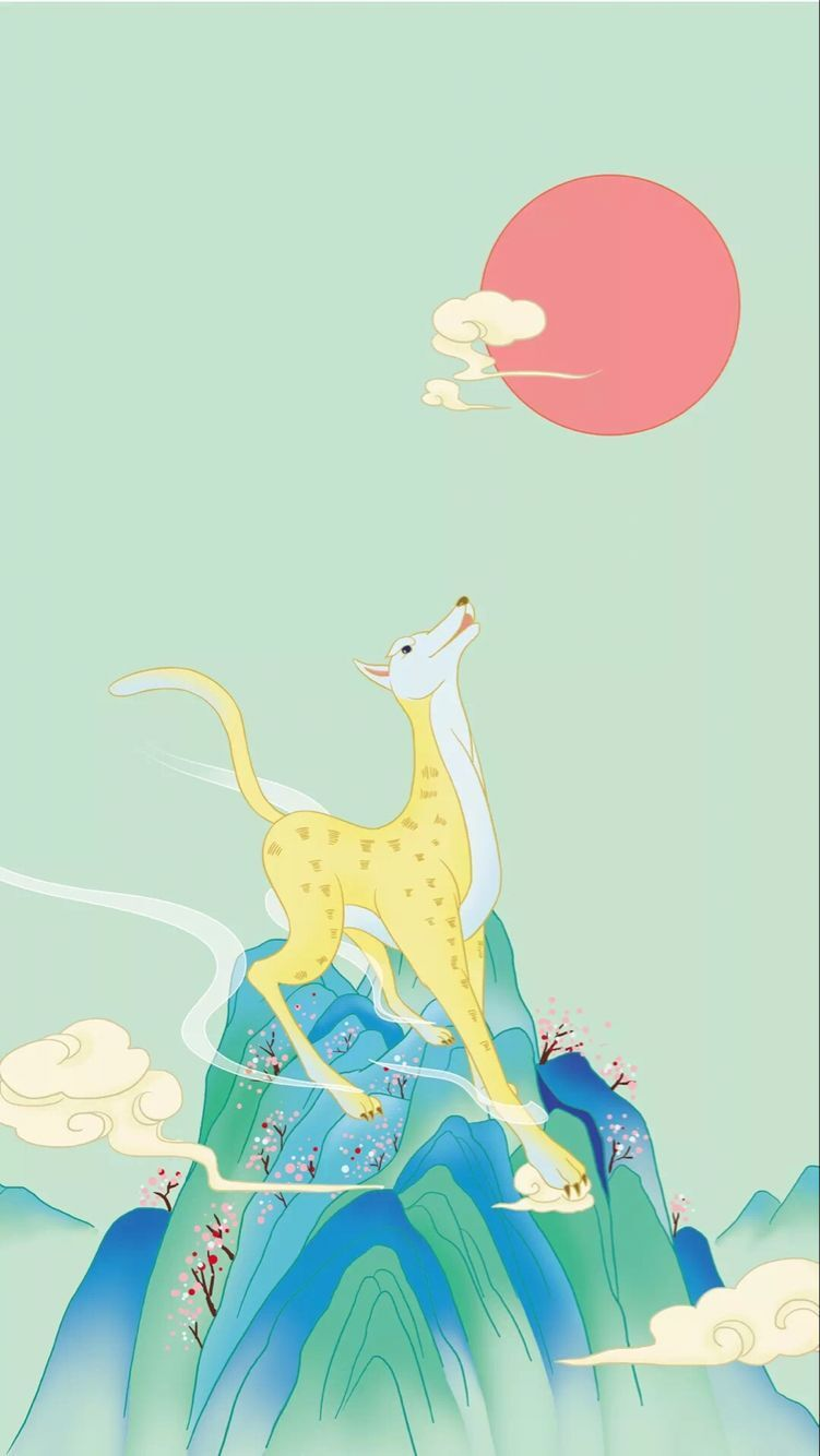 The animal series of the 12 most beautiful mobile phone wallpaper