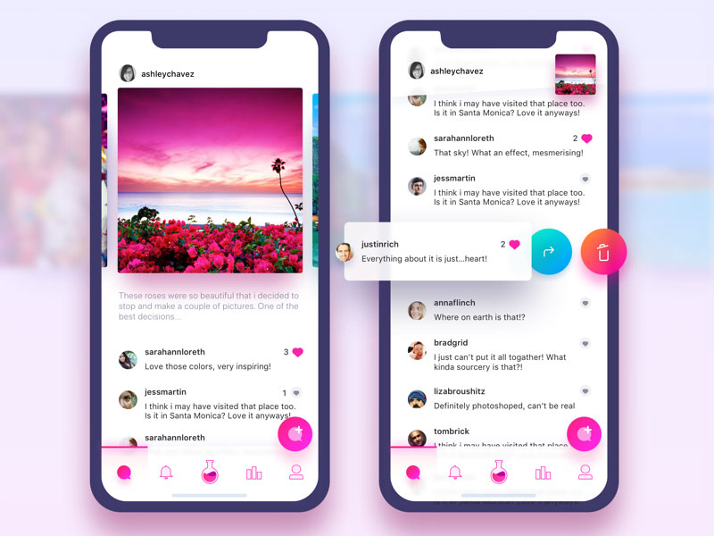 The most beautiful iphone-X- packaging APP interface design 22