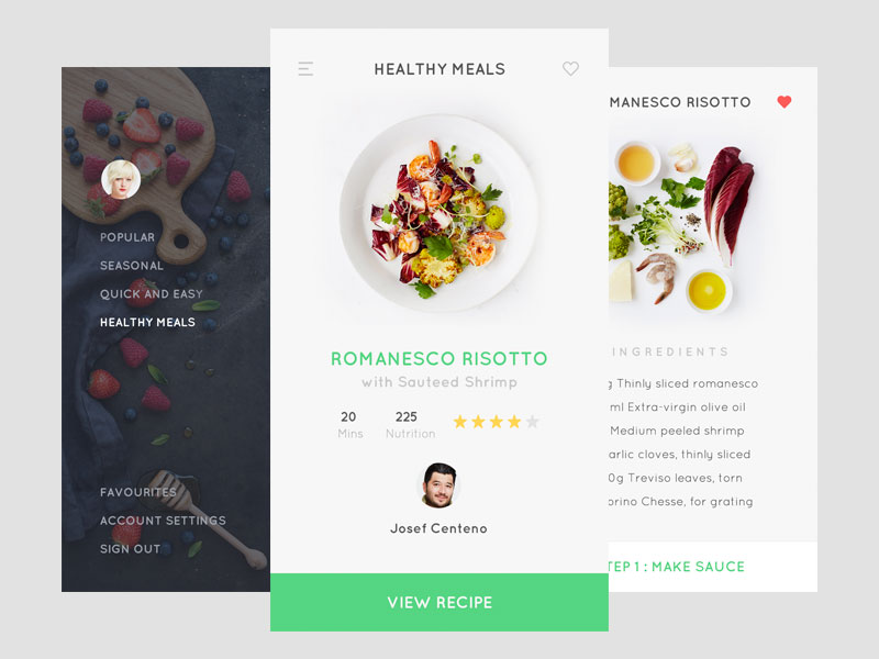 美食app设计2
