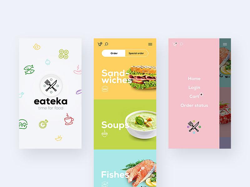 美食app设计3