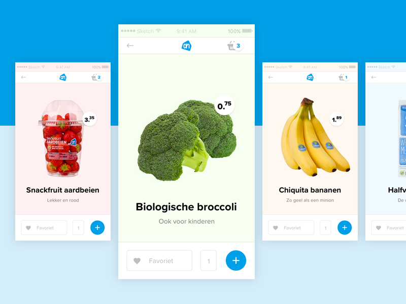 Vegetables APP design