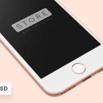 3张超有质感的iPhone 8 mockup PSD贴图素材下载