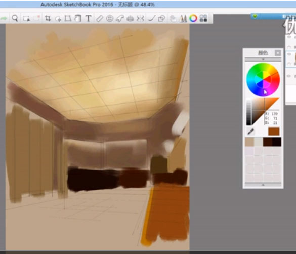 Sketch-book绘画视频教程