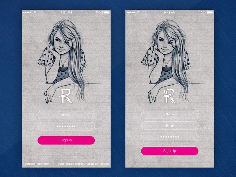 app登录界面设计2