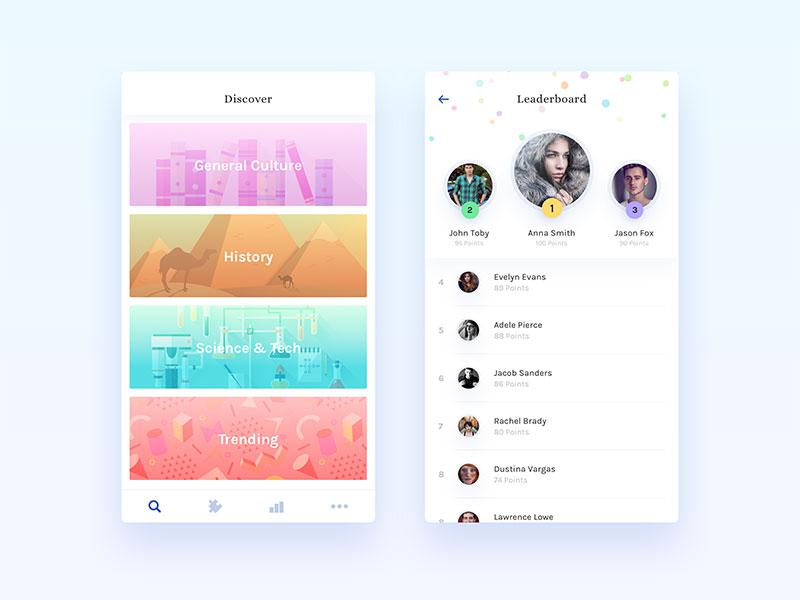 app积分榜设计4