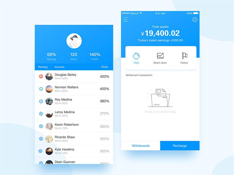 app积分榜设计7