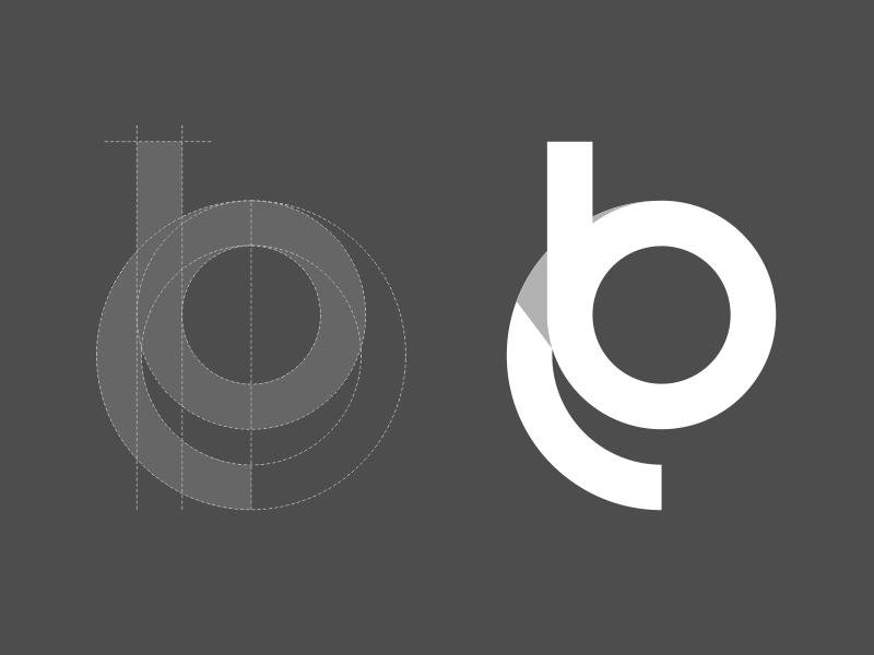 最基本的logo设计方法:网格制图和尺规作图