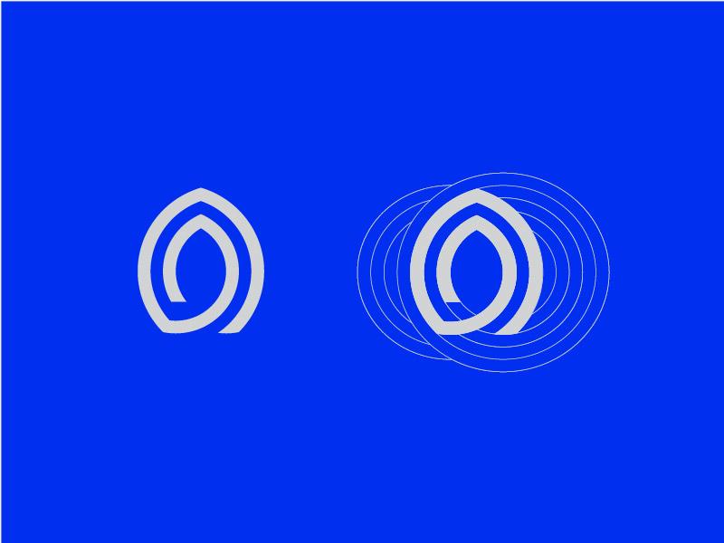 logo设计方法,圆网格设计