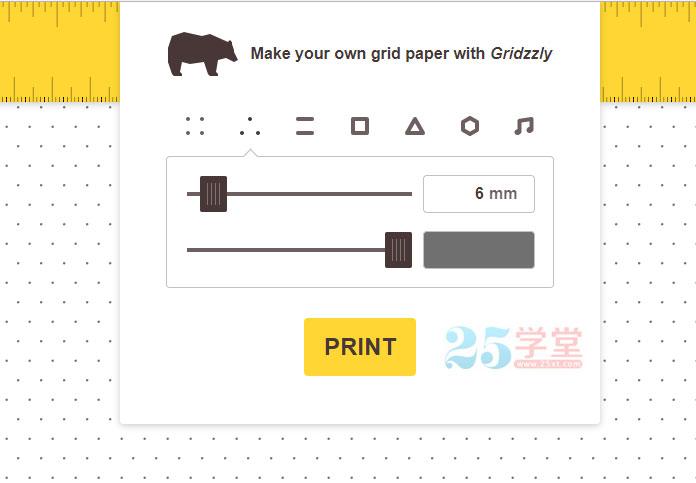 在线制作网格背景纸张的工具