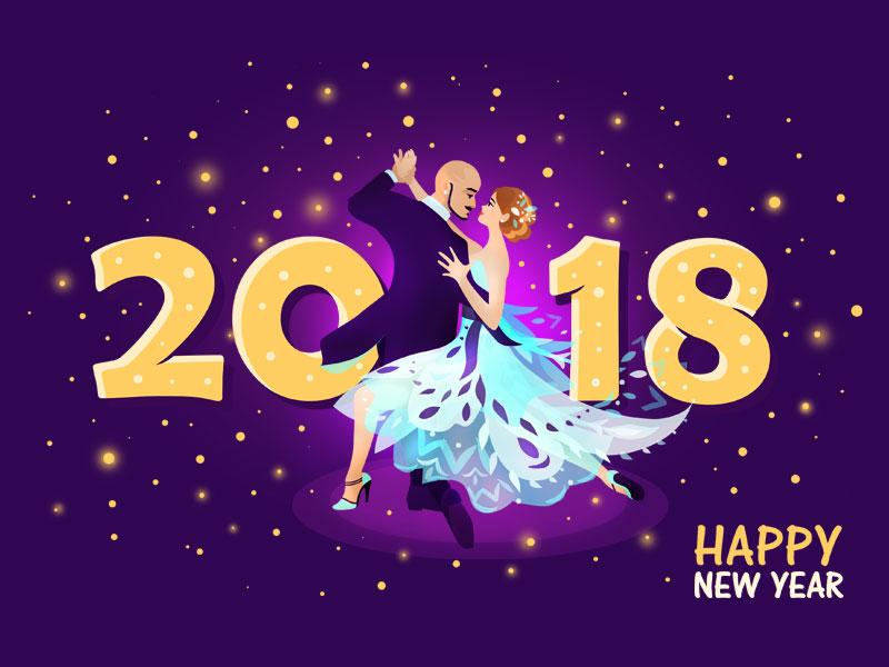 2018设计壁纸欣赏跳舞