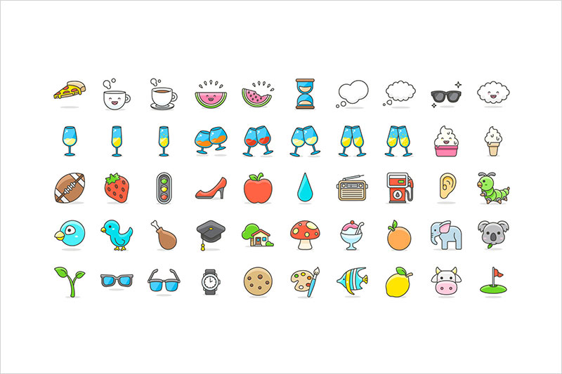 Free-100-Cute-Emoji-Vector-Icons-Collection-1