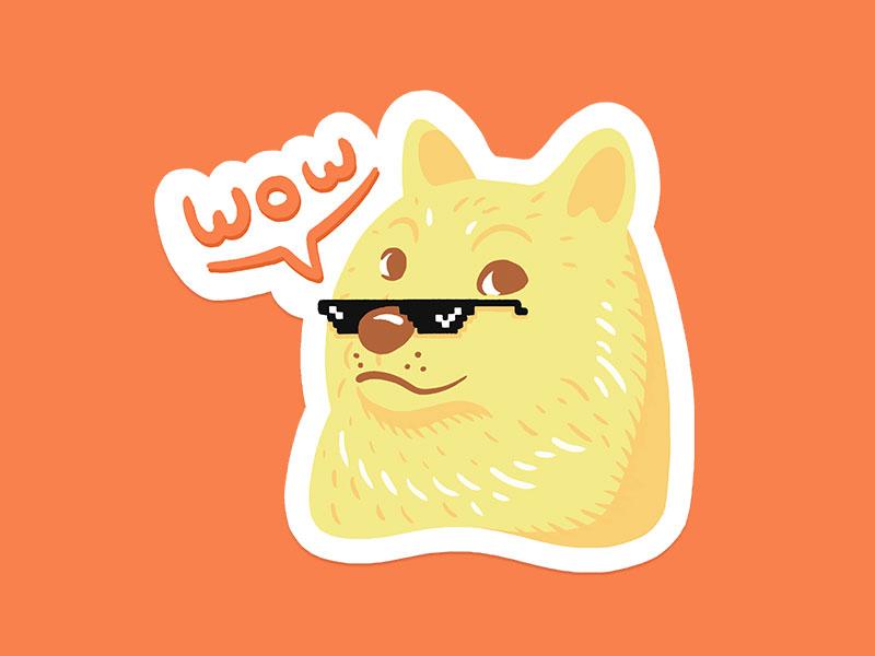 产品汪Doge卡通设计