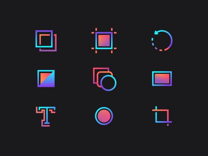 Color linear Icon