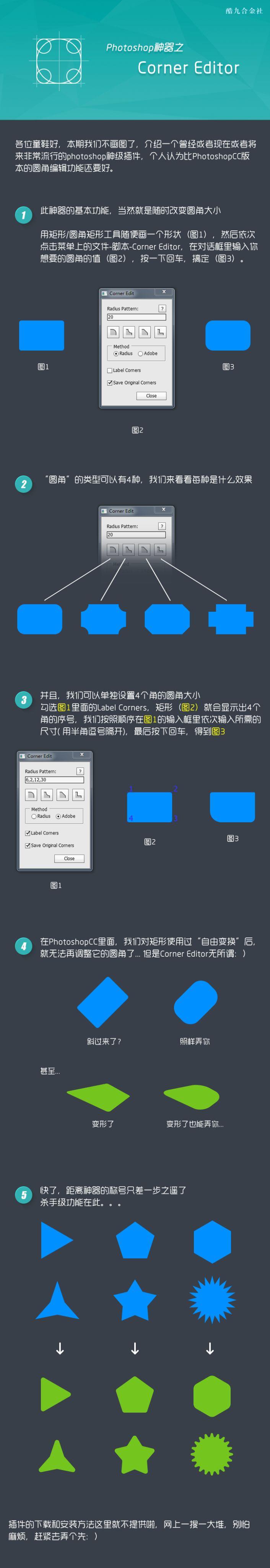 Corner Editor操作案例