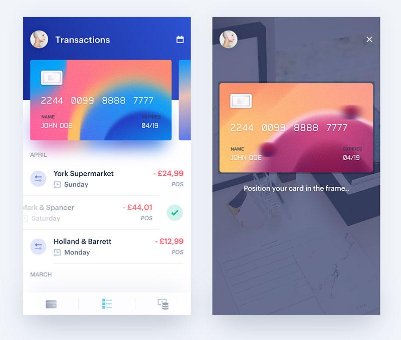 app钱包页面设计22