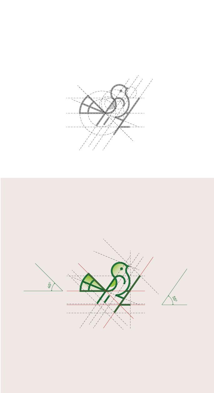 飞鸟logo设计案例