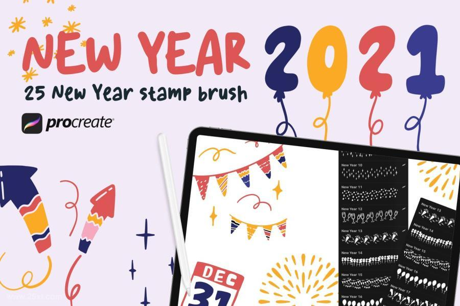 25xt-127455 New-Year-2021---Procreate-Stamp-Brushz2.jpg
