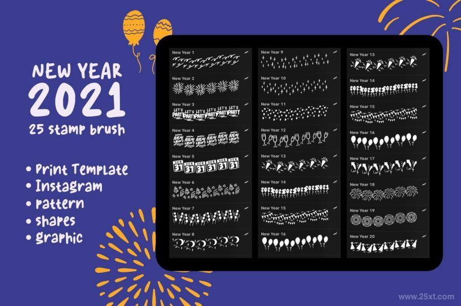 25xt-127455 New-Year-2021---Procreate-Stamp-Brushz7.jpg