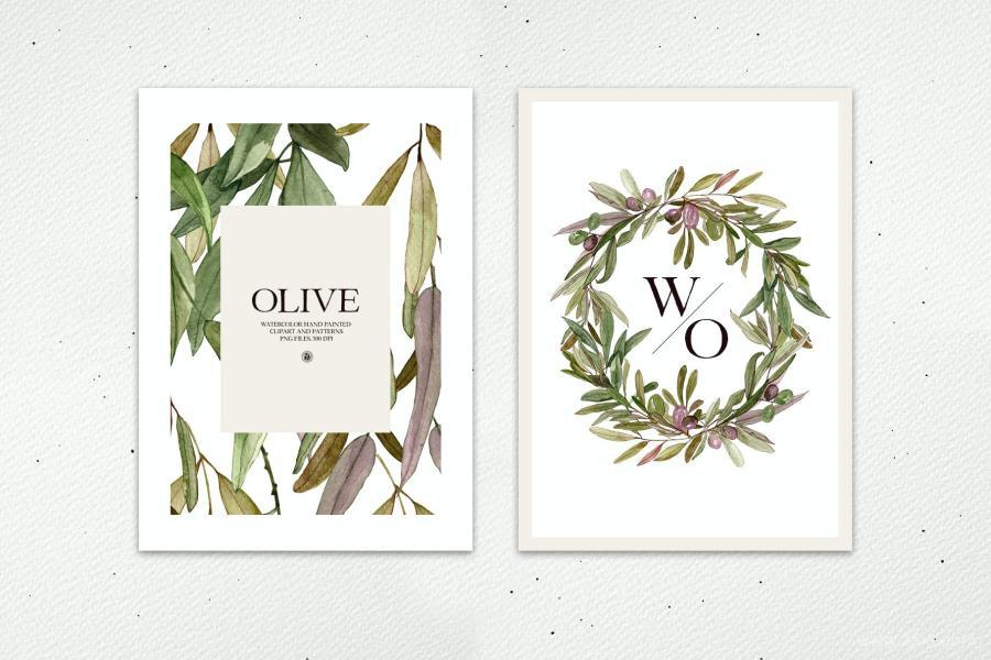 25xt-128001 Watercolor-Olive---frames-and-patternsz10.jpg