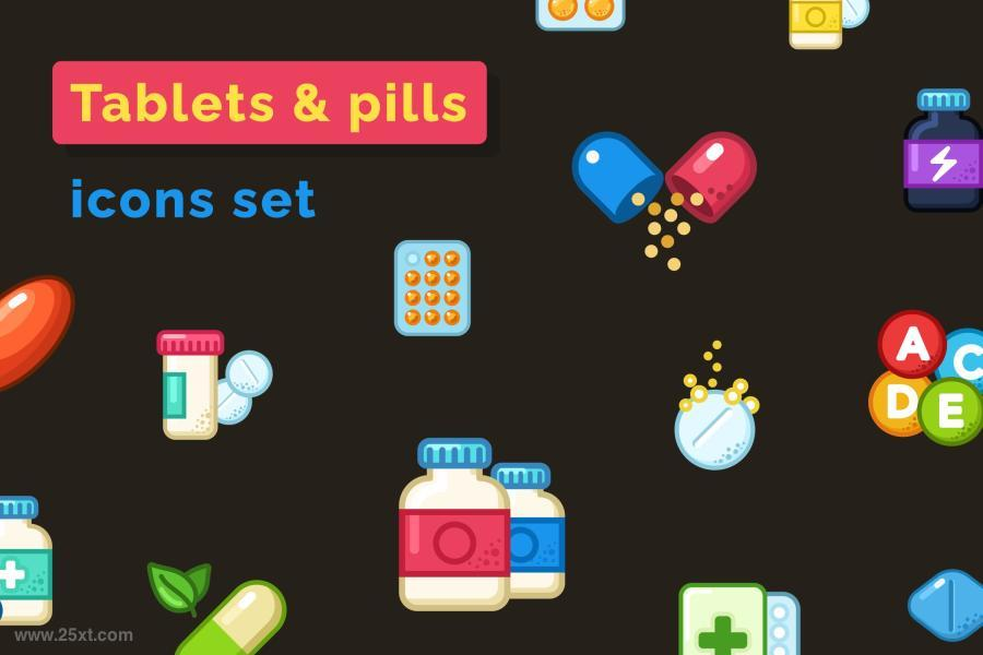 25xt-128007 Pills--Tablets-Icons-Setz2.jpg