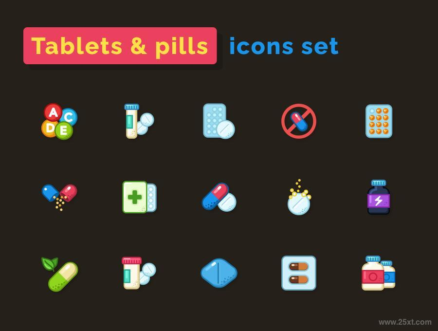 25xt-128007 Pills--Tablets-Icons-Setz3.jpg