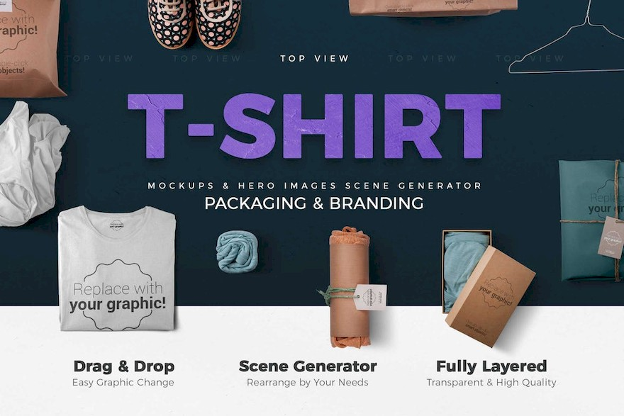 T-shirt and Packages Mockups & Scene Generator-7.jpg