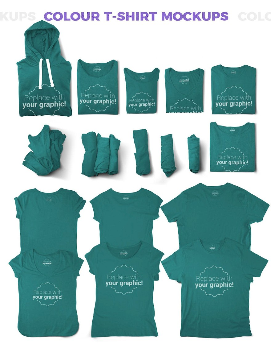 T-shirt and Packages Mockups & Scene Generator-5.jpg