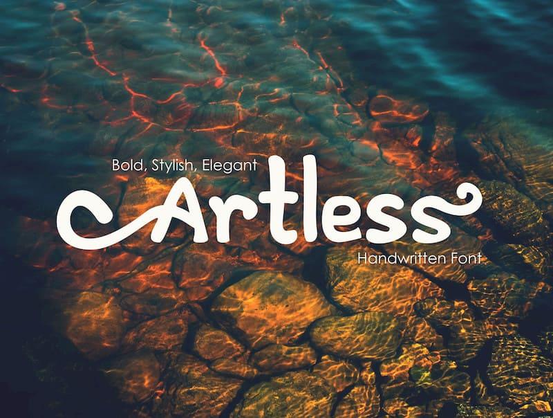 Artless - Handwritten Font 3.jpg