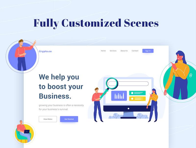 Makaryo Start up Website E Commerce Illustration 2.jpg