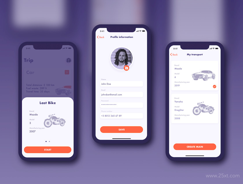 UI Kit for fuel tracker and parking app 8.jpg